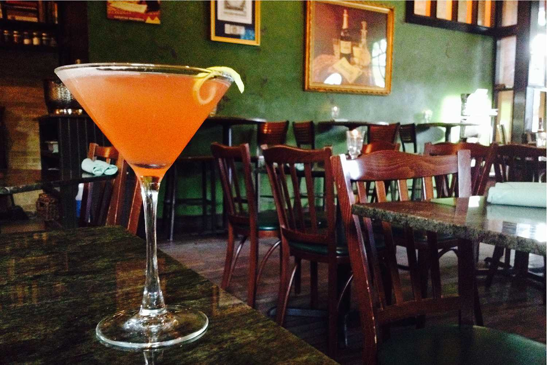 Peche's Lita Grey Cocktail - Austin, Texas