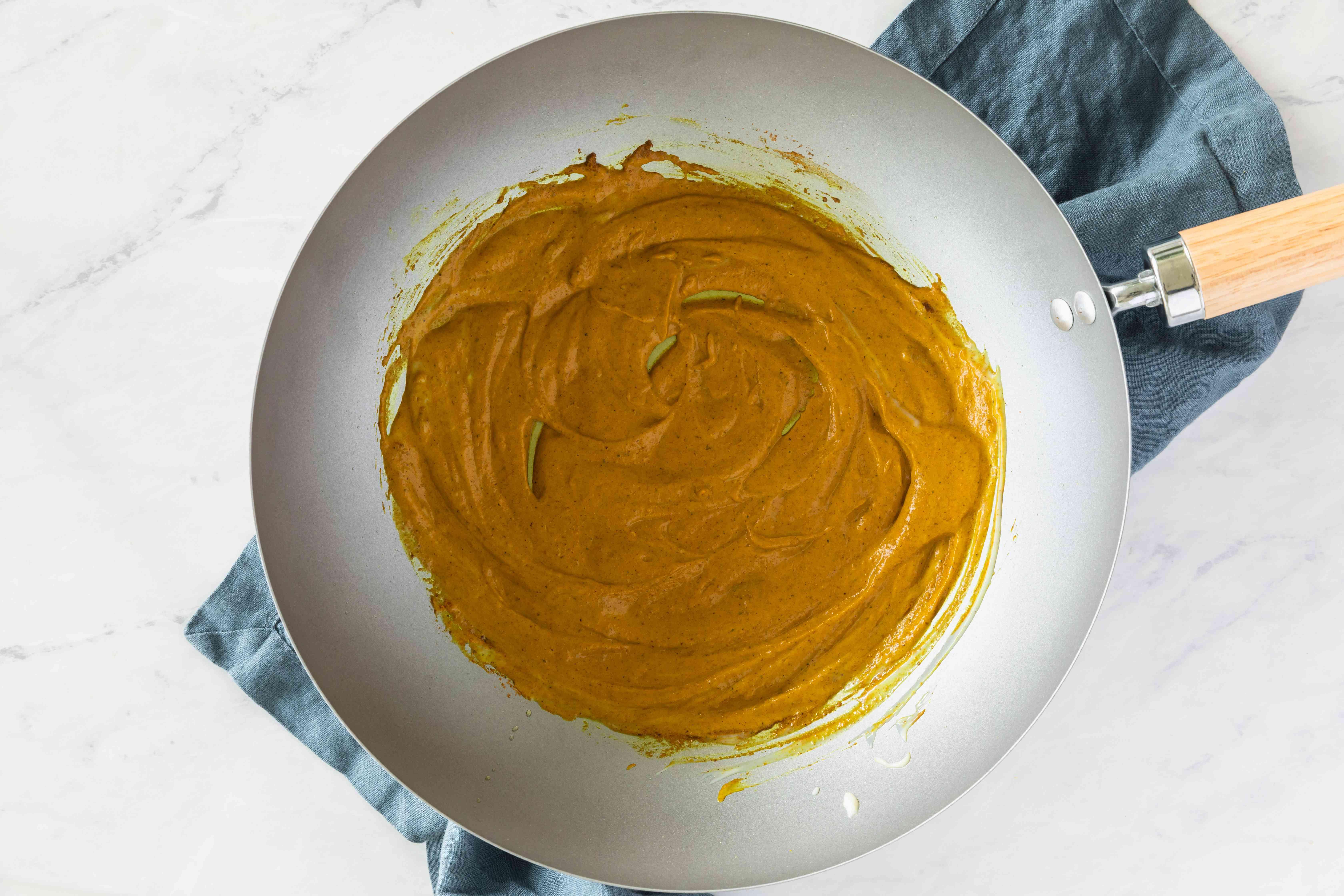 Heat olive oil