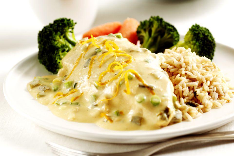 creamy chicken and broccoli