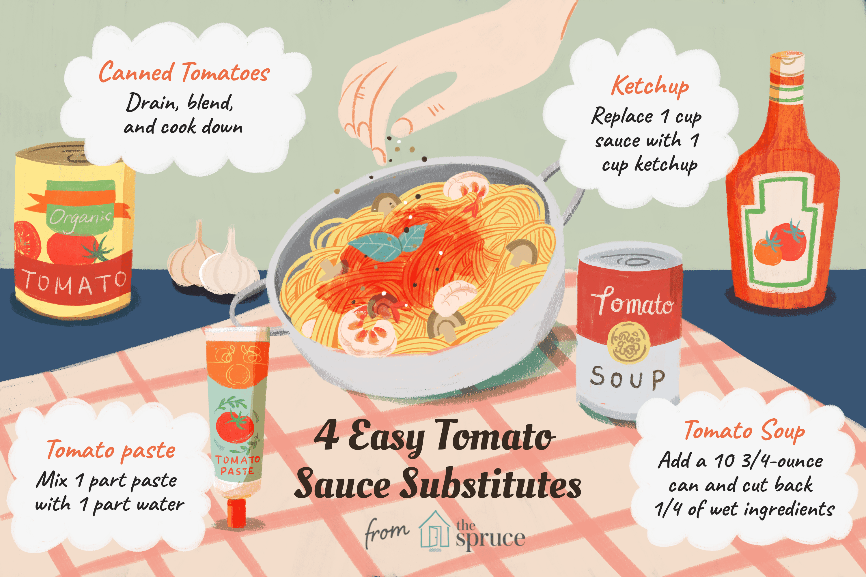 What To Use If You Do Not Have Tomato Sauce