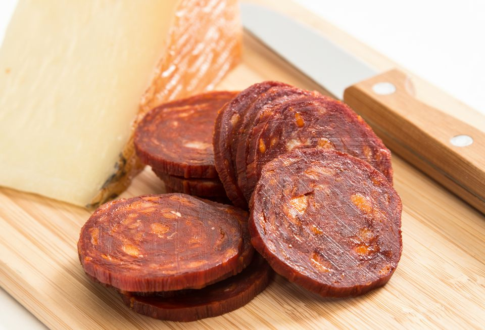 Manchego Cheese and Chorizo