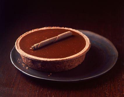 Classic French Chocolate Orange Tart