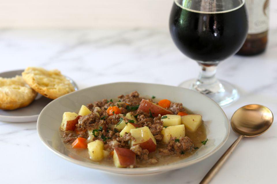 beef stew hamburg recipe