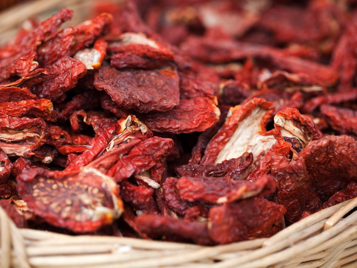 Homemade Sun Dried Tomatoes Basics Recipe