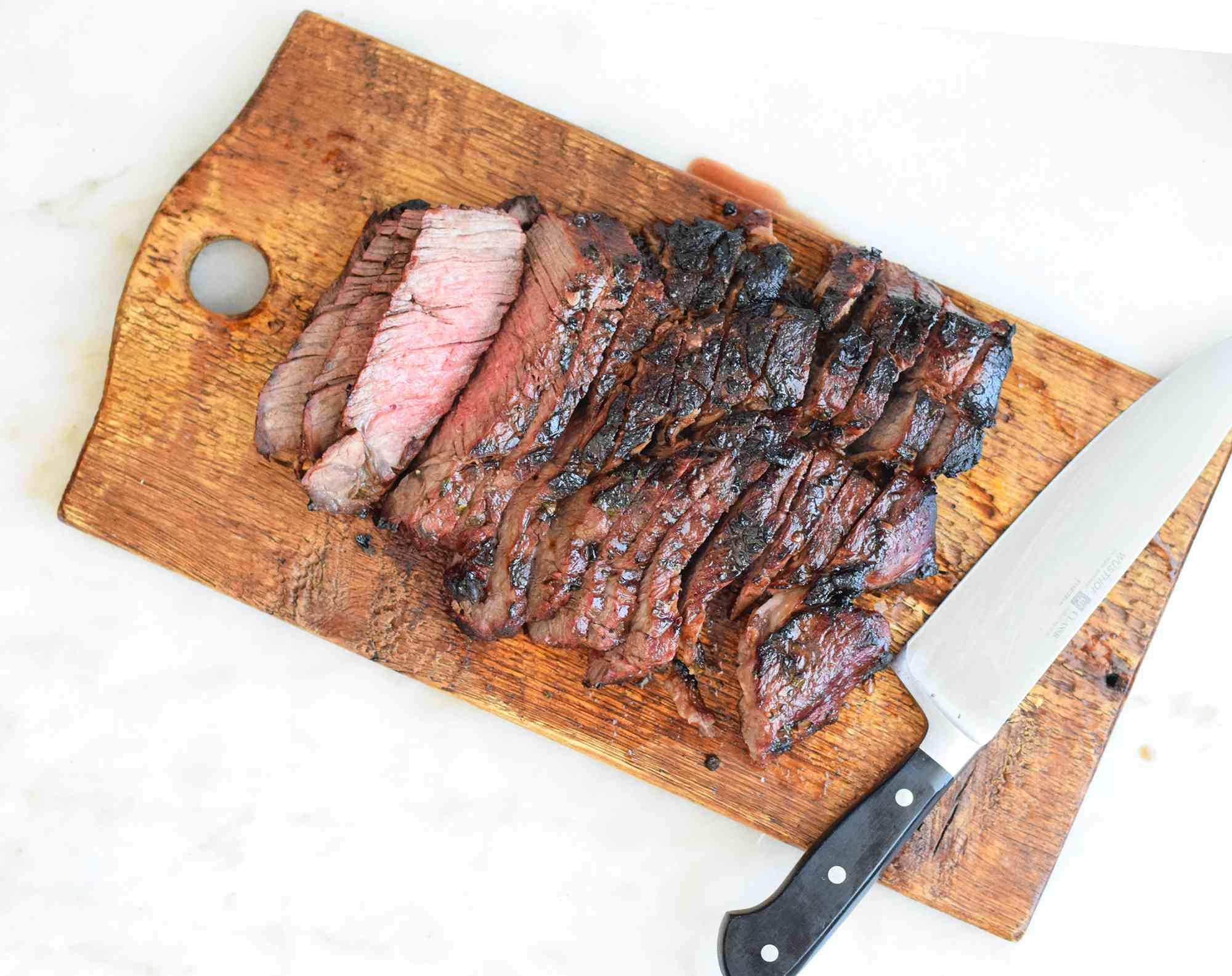 sliced chuck roast