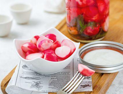 Quick radish pickle recipe