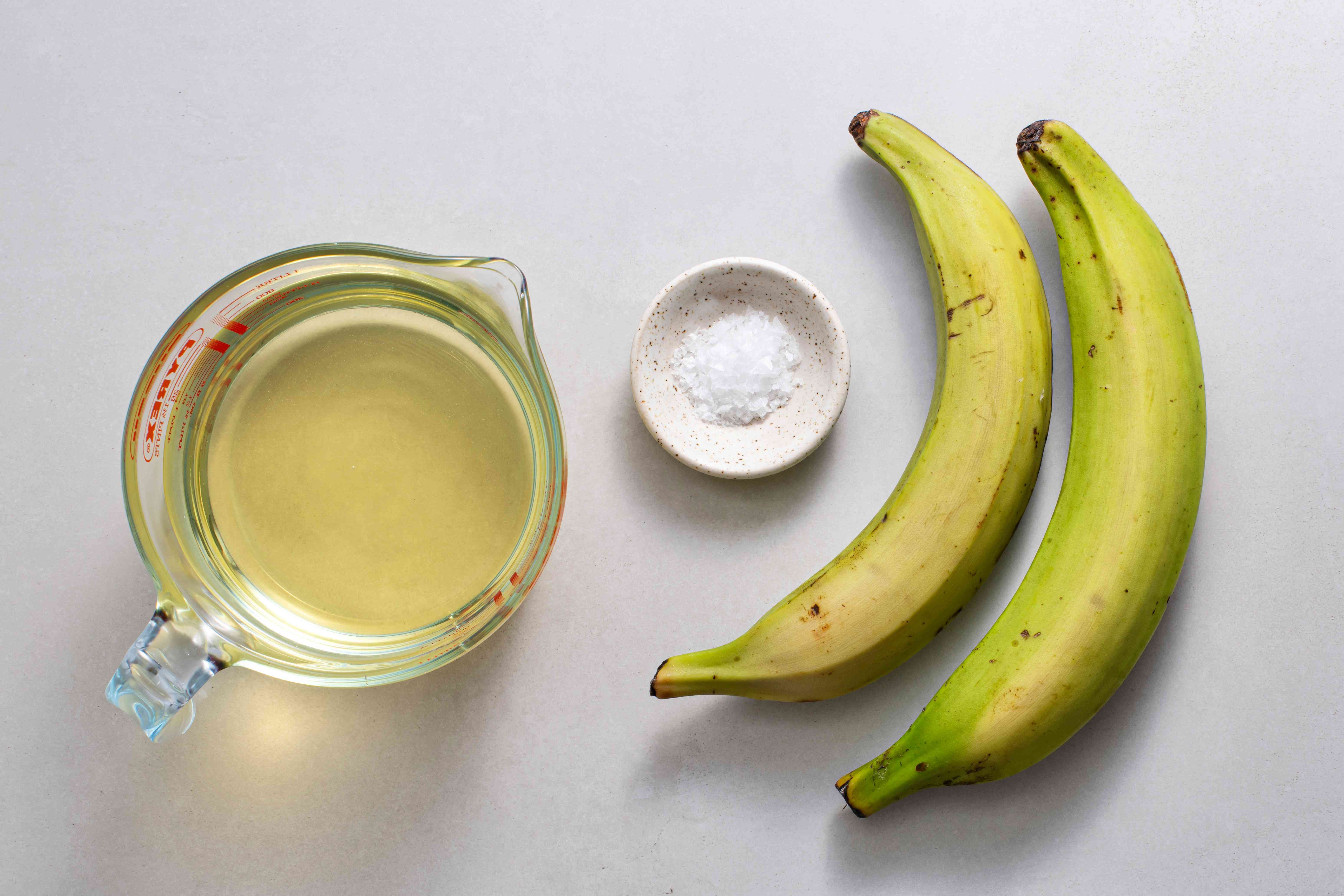 Fried Plantain Chips (Chifles) ingredients