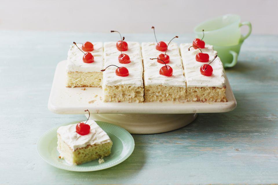 Tres leche cake