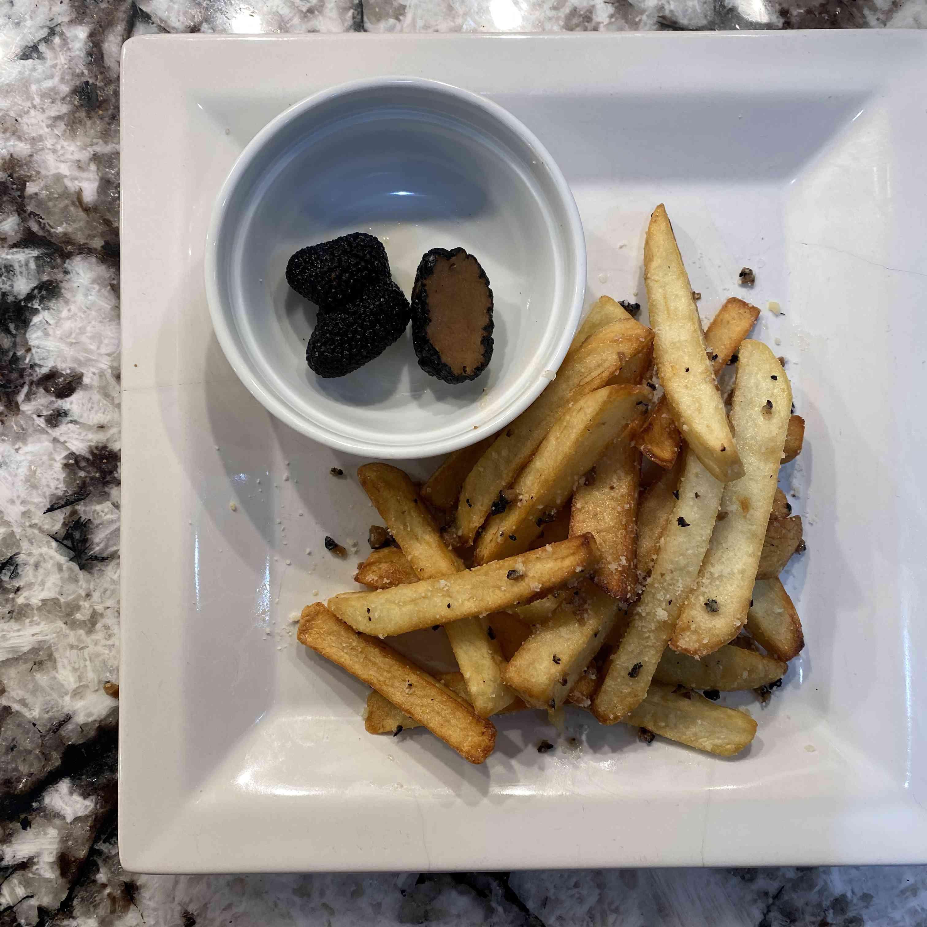 Truffled French Fries Recipe Test