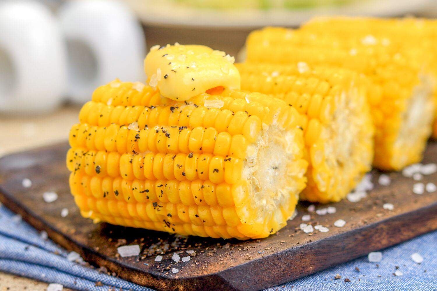 steamed corn on the cob recipe