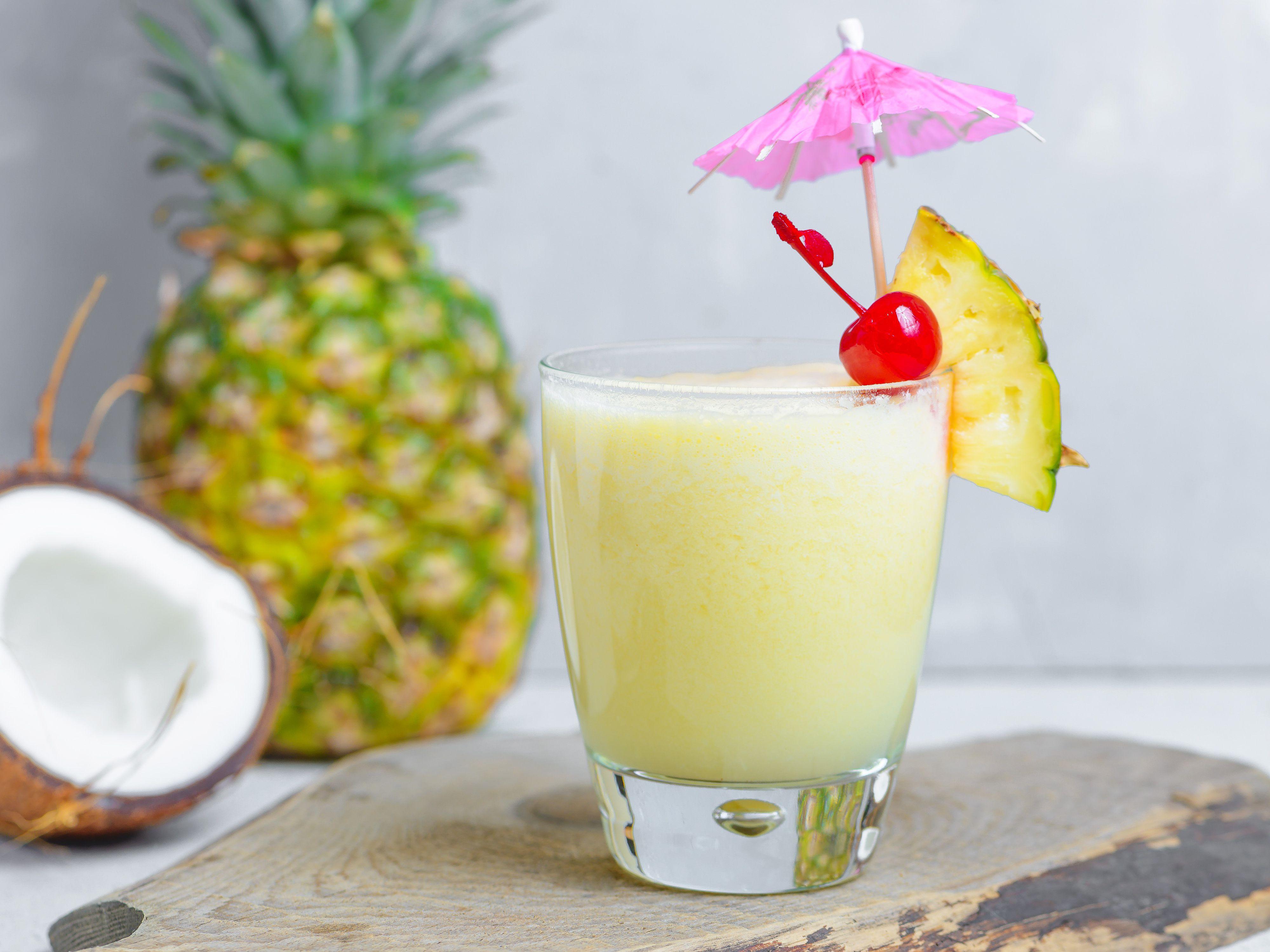 pina colada recept alkoholfri