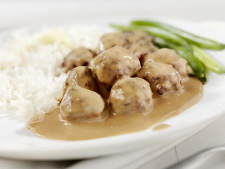 Crockpot Meatballs And Gravy Recipe