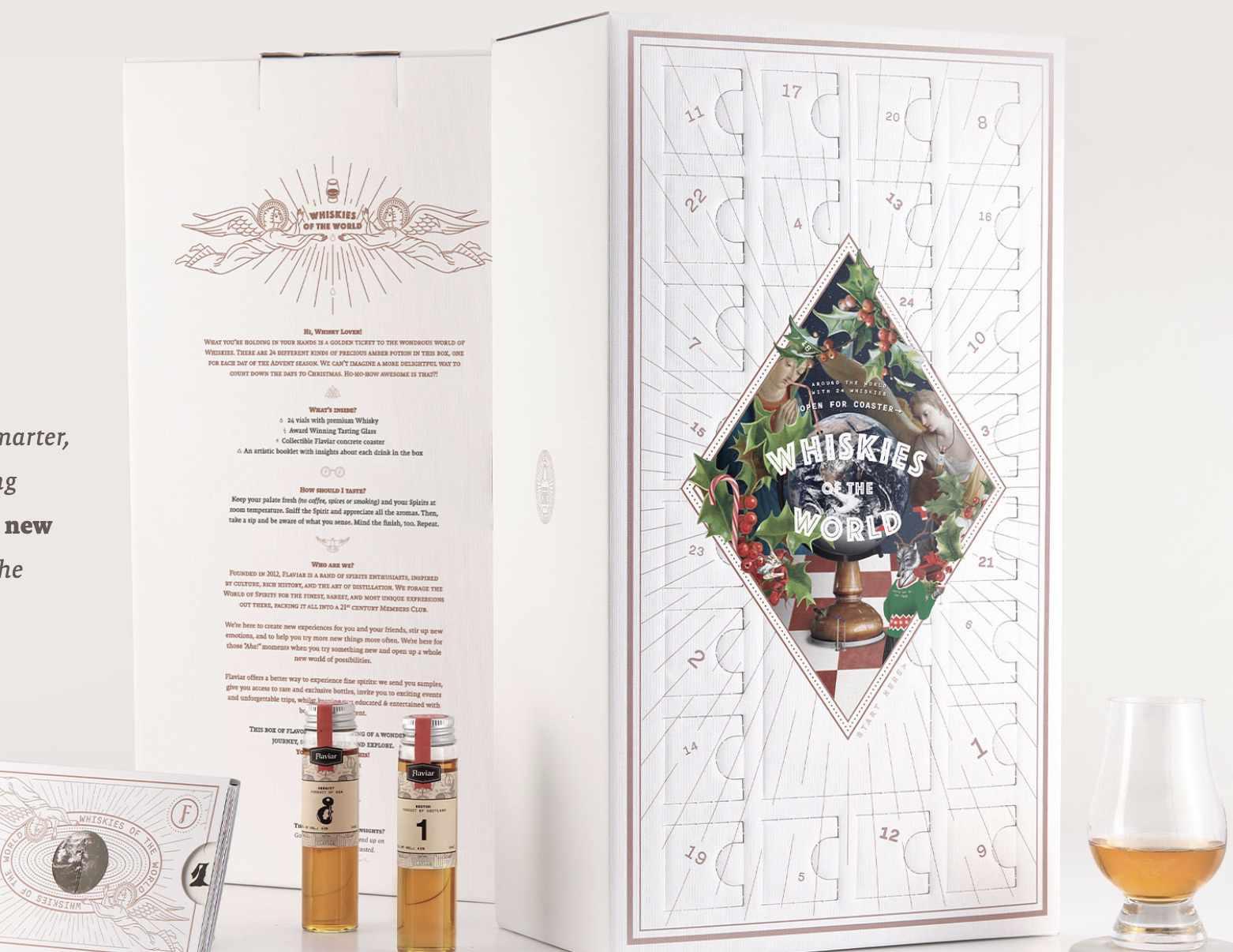 Flaviar Whisky Advent Calendar