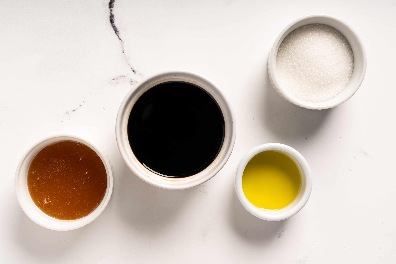 Korean Soy Honey Glaze ingredients