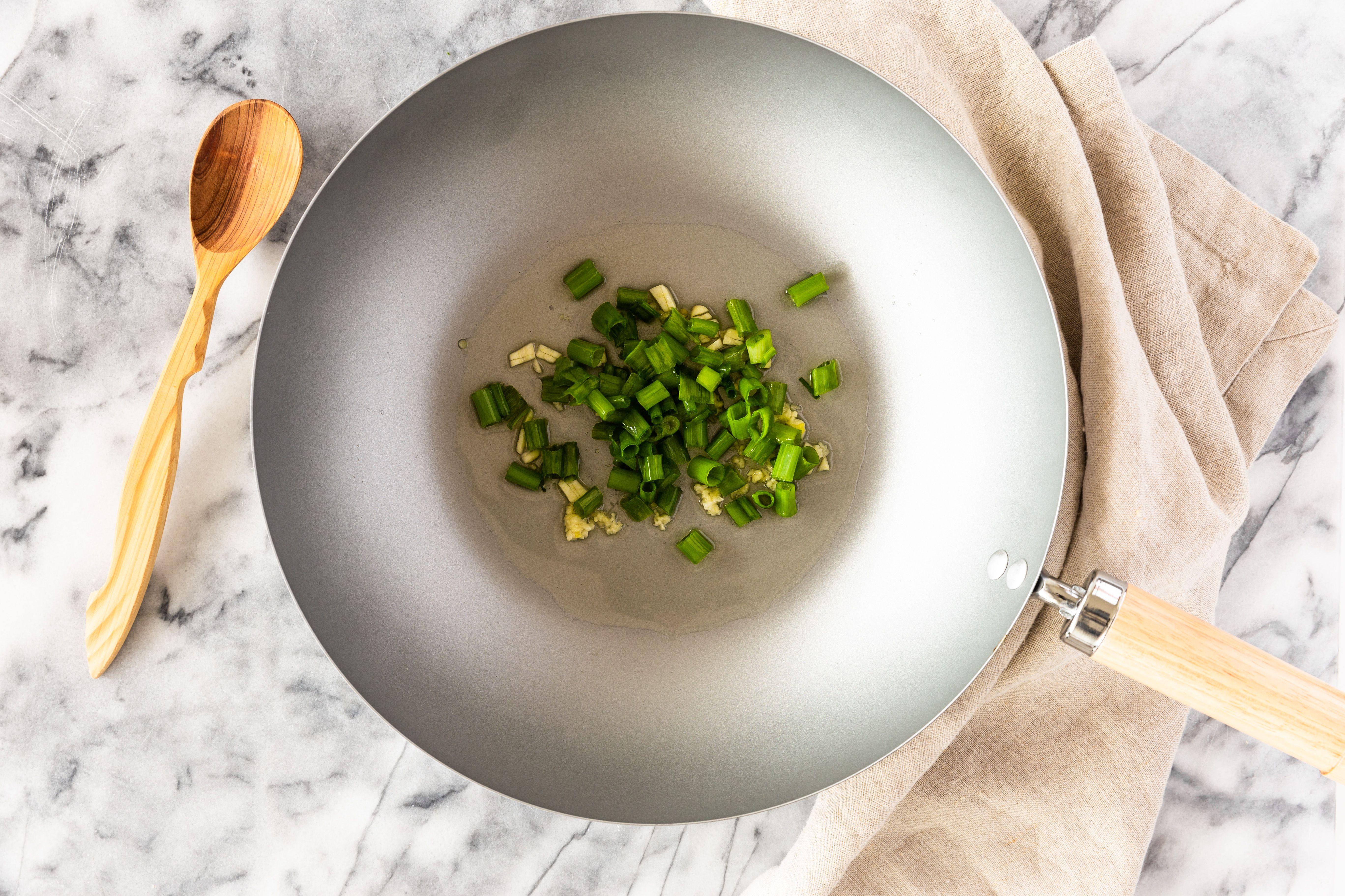Add green onions