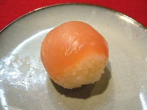 Finished Temari Sushi