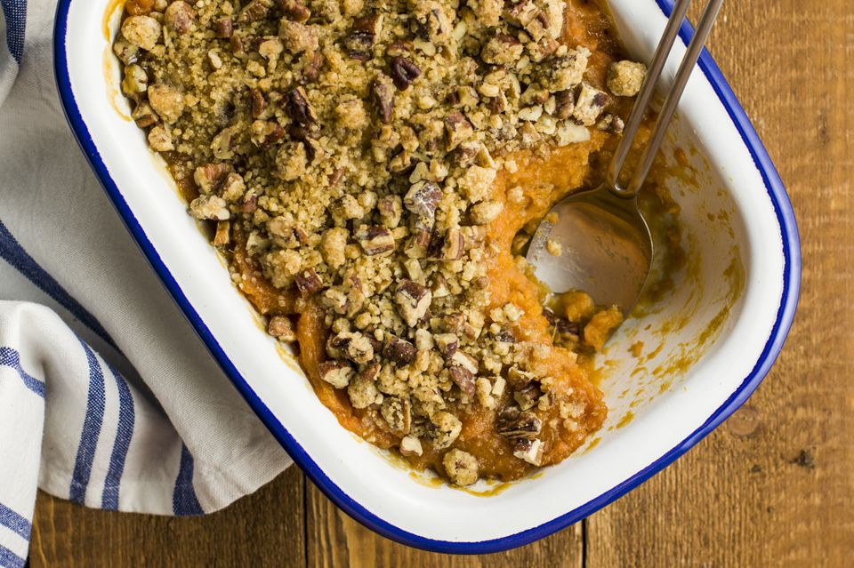 Sweet potato casserole with streusel recipe