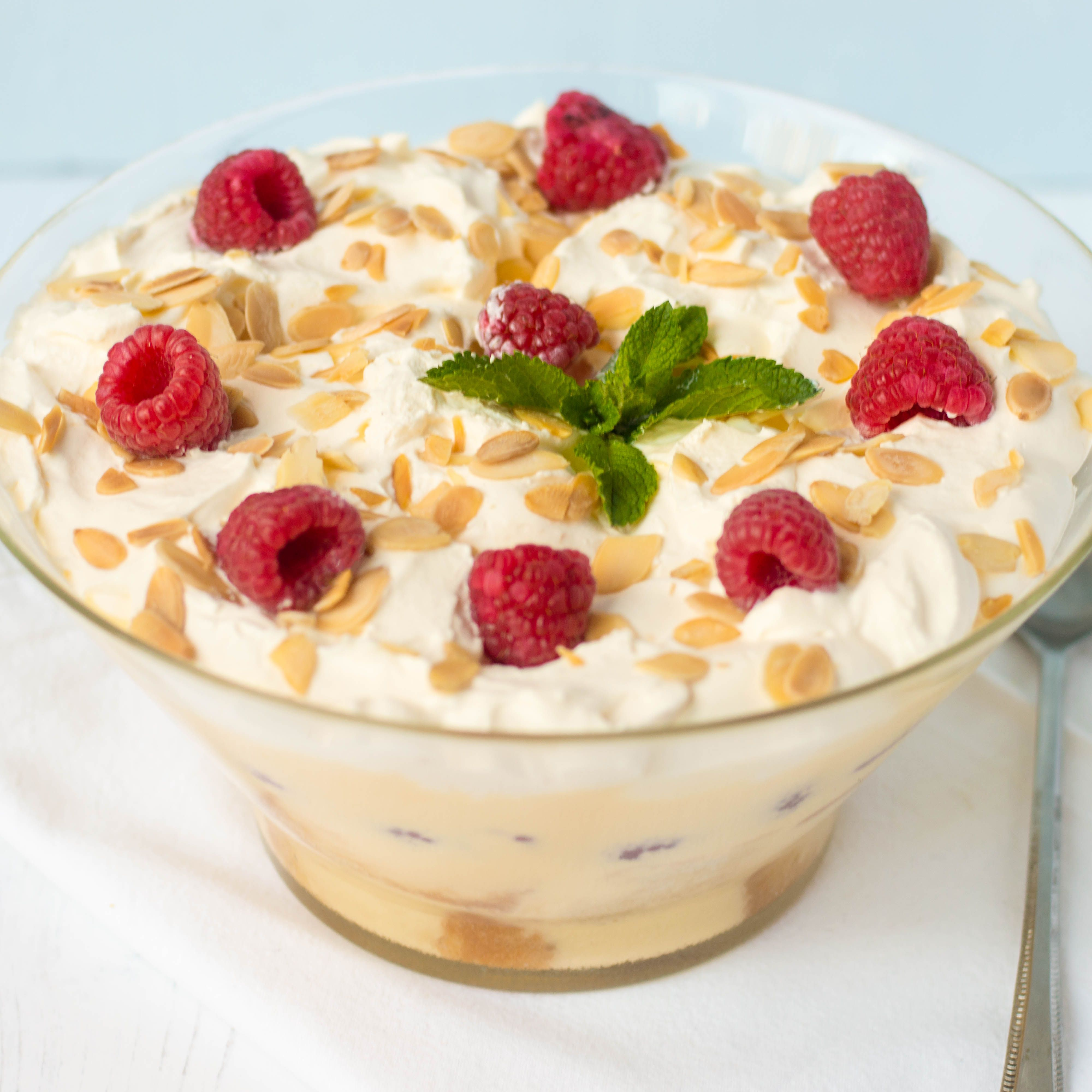 Classic Scottish Tipsy Laird Trifle Recipe