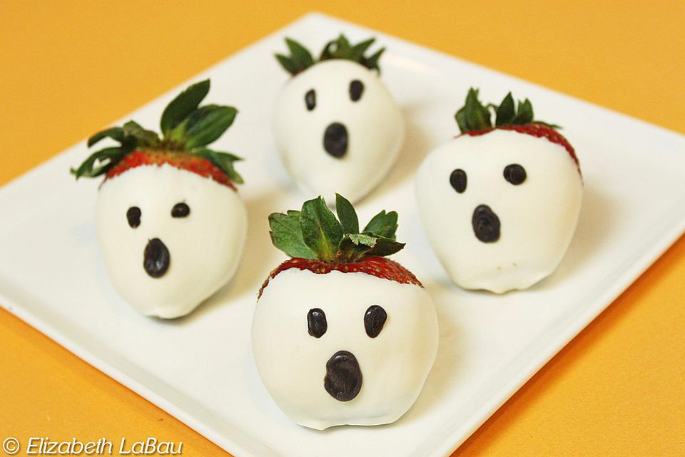 Ghost Strawberries