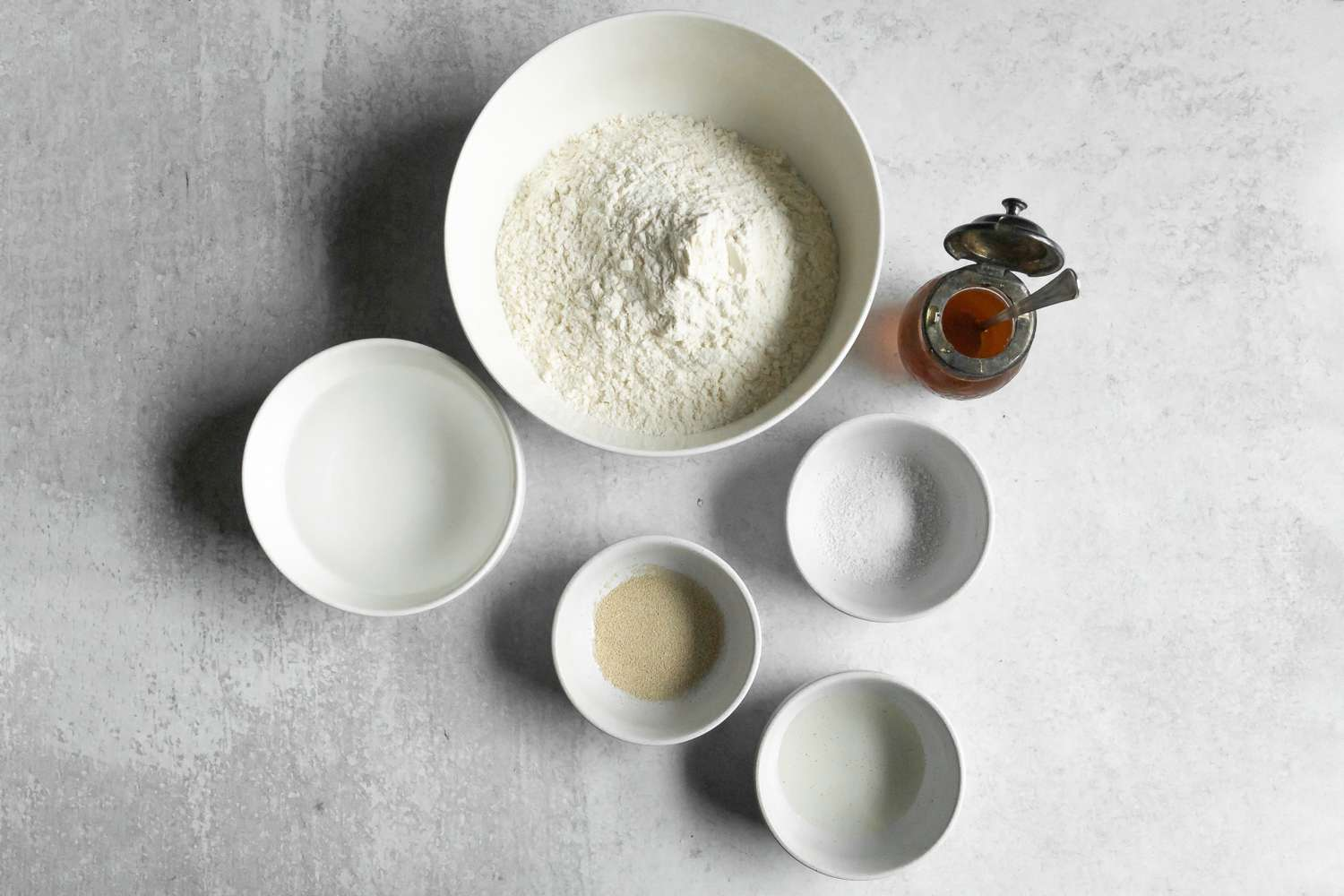 Wolfgang Puck's Pizza Dough ingredients
