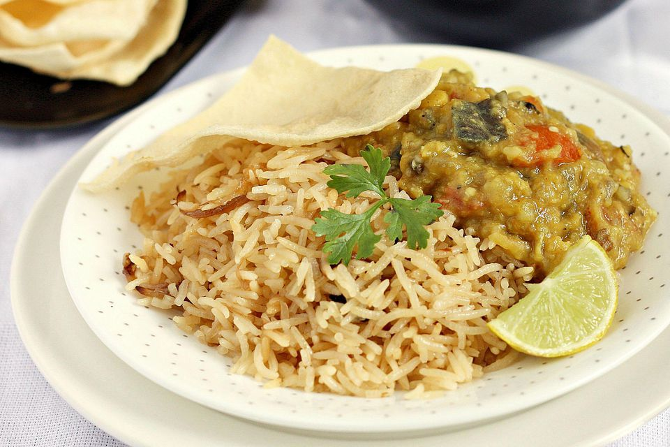 Veggie Dhansak With Parsi Brown Rice