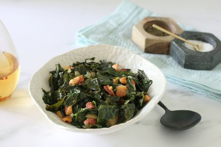 southern style turnip greens or collard greens
