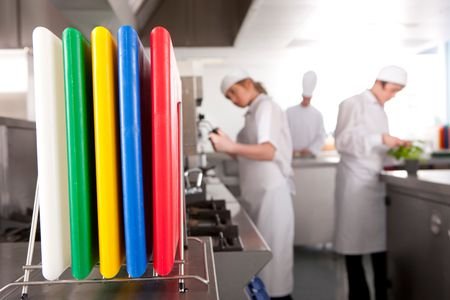 Color Coded Cutting Boards Prevent Cross Contamination