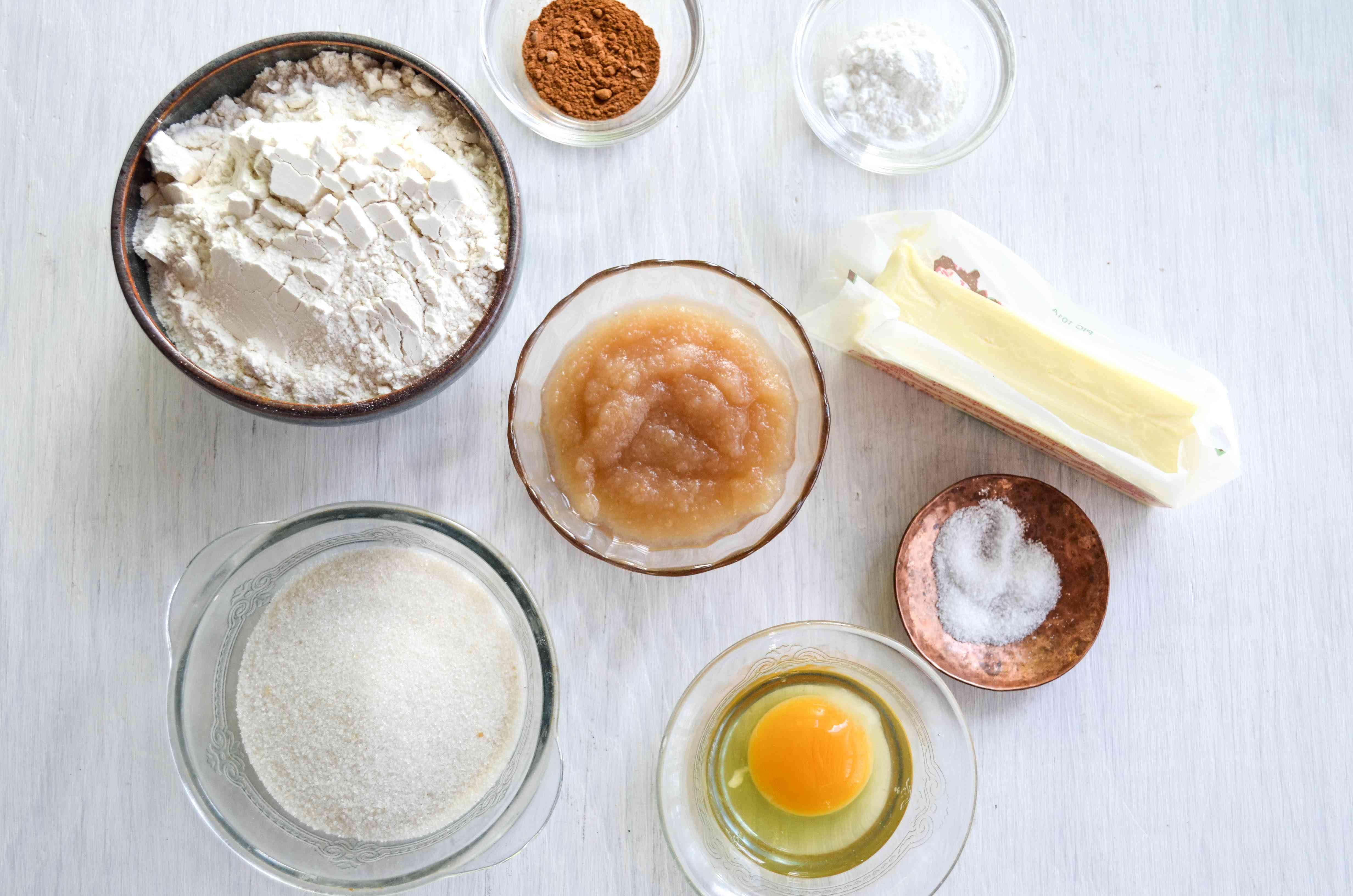 Apple Sauce Cookie Ingredients