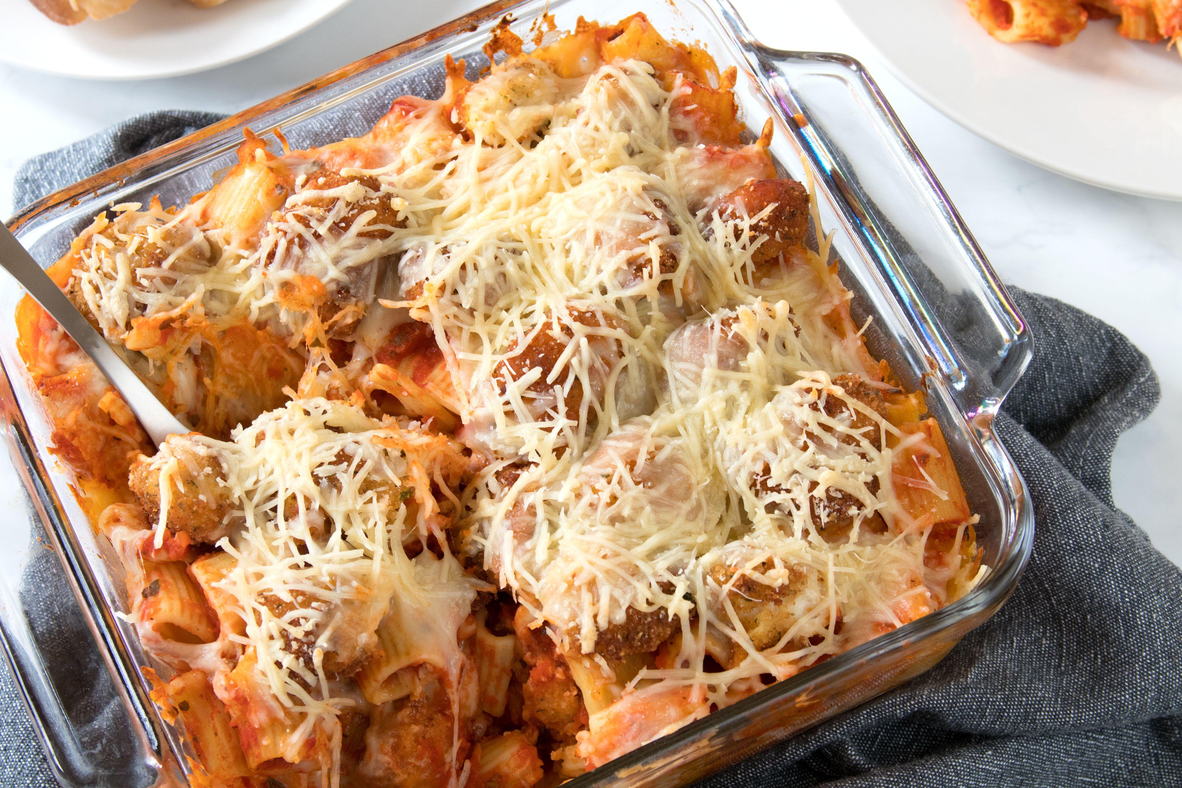 Enjoy Chicken Parm Casserole-Style