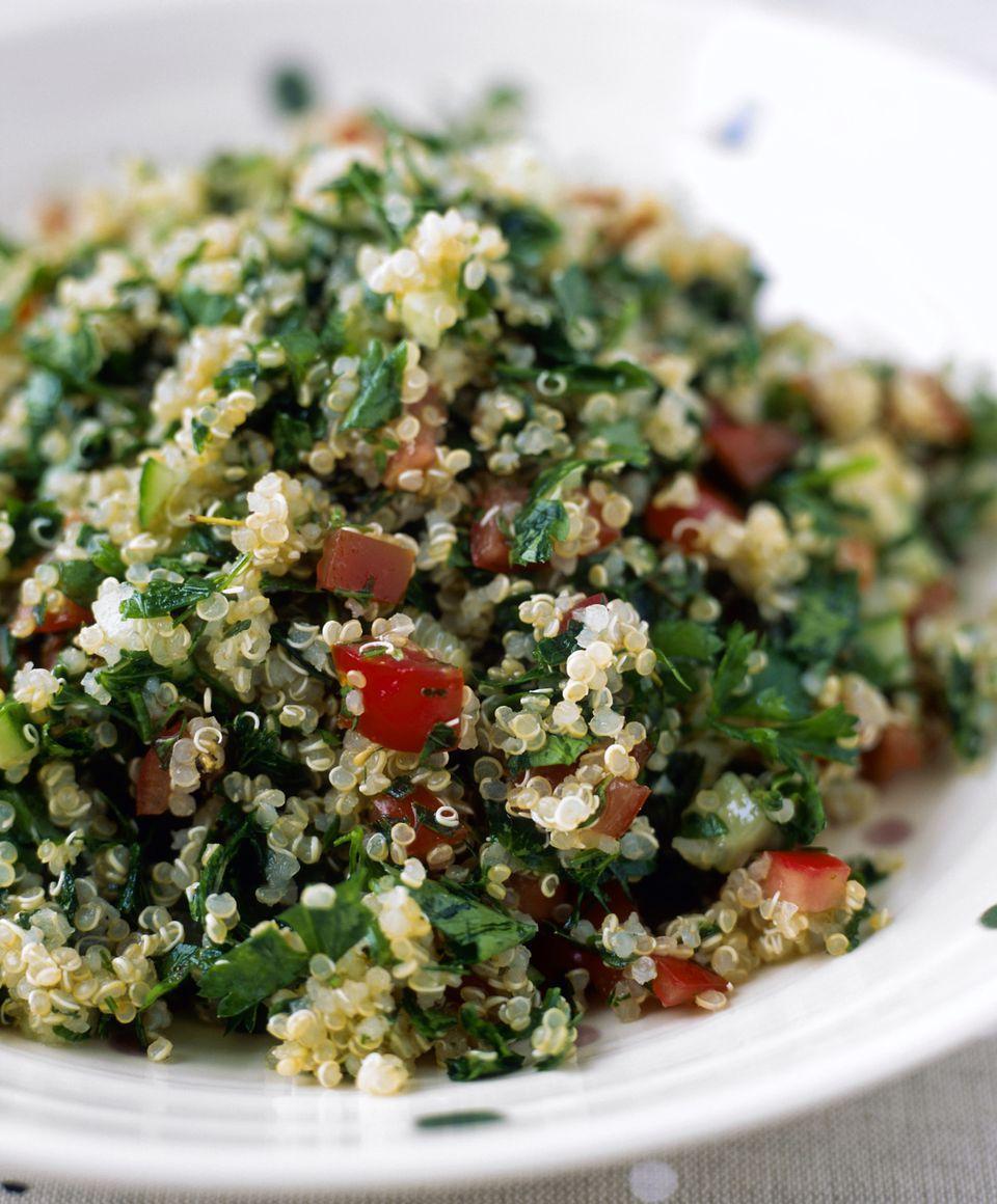 Vegetarian Quinoa Tabouli Salad