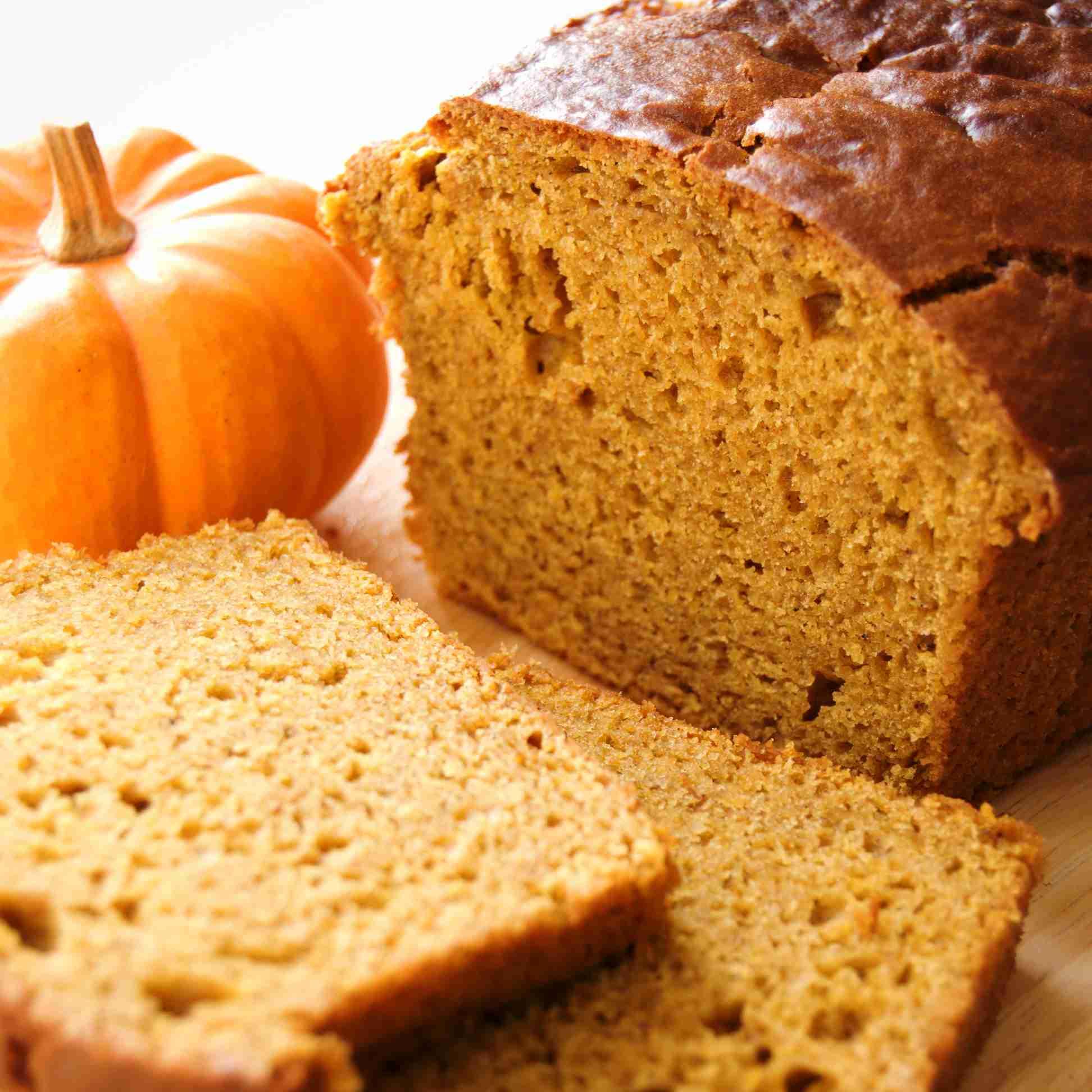 Fat-Free Vegan Pumpkin Bread