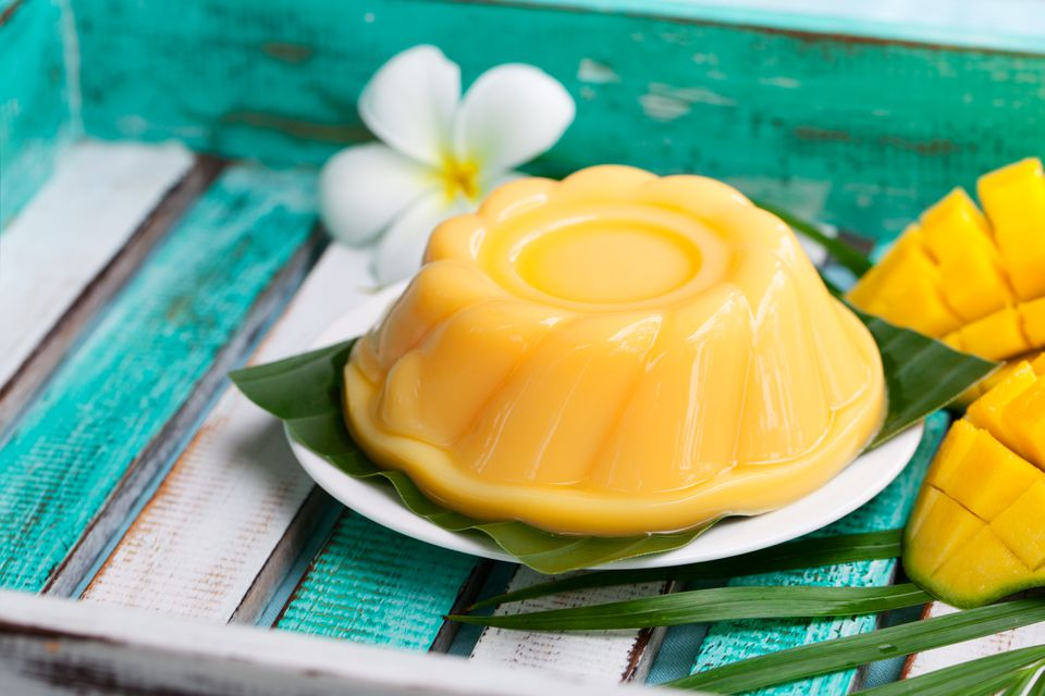 Thai Mango Custard