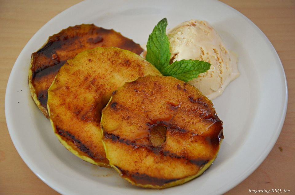 Grilled Cinnamon Apples