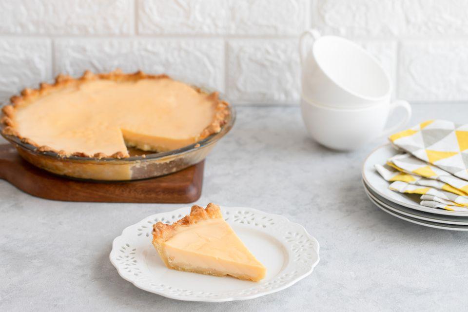 Classic custard pie recipe