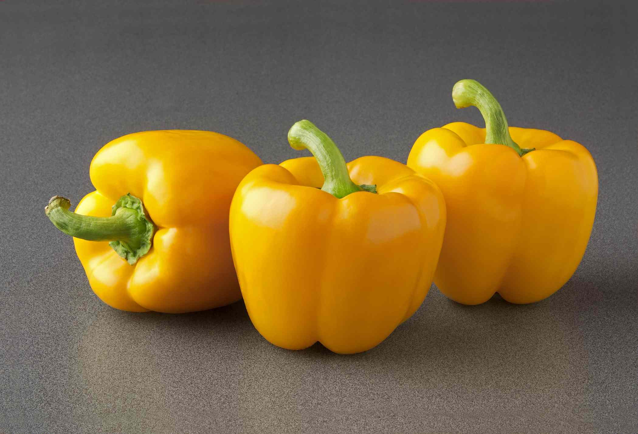 Sweet Bell Peppers—Yellow