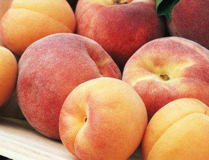 Peaches in a Crate