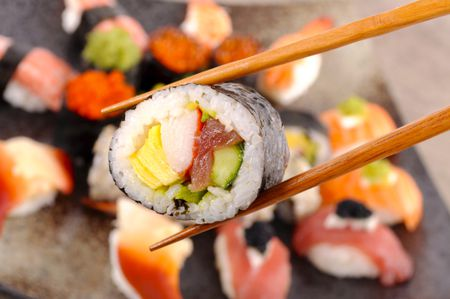 Futomaki Recipe Fat Rolled Sushi With Vegetables