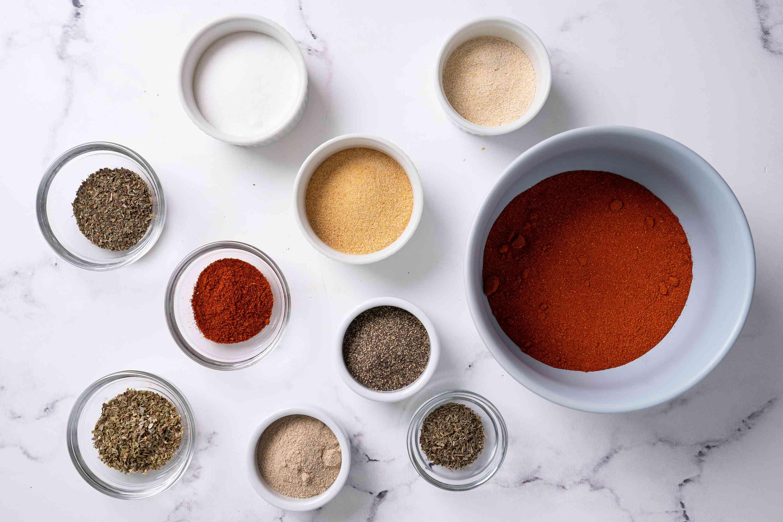 Blackening seasoning ingredients