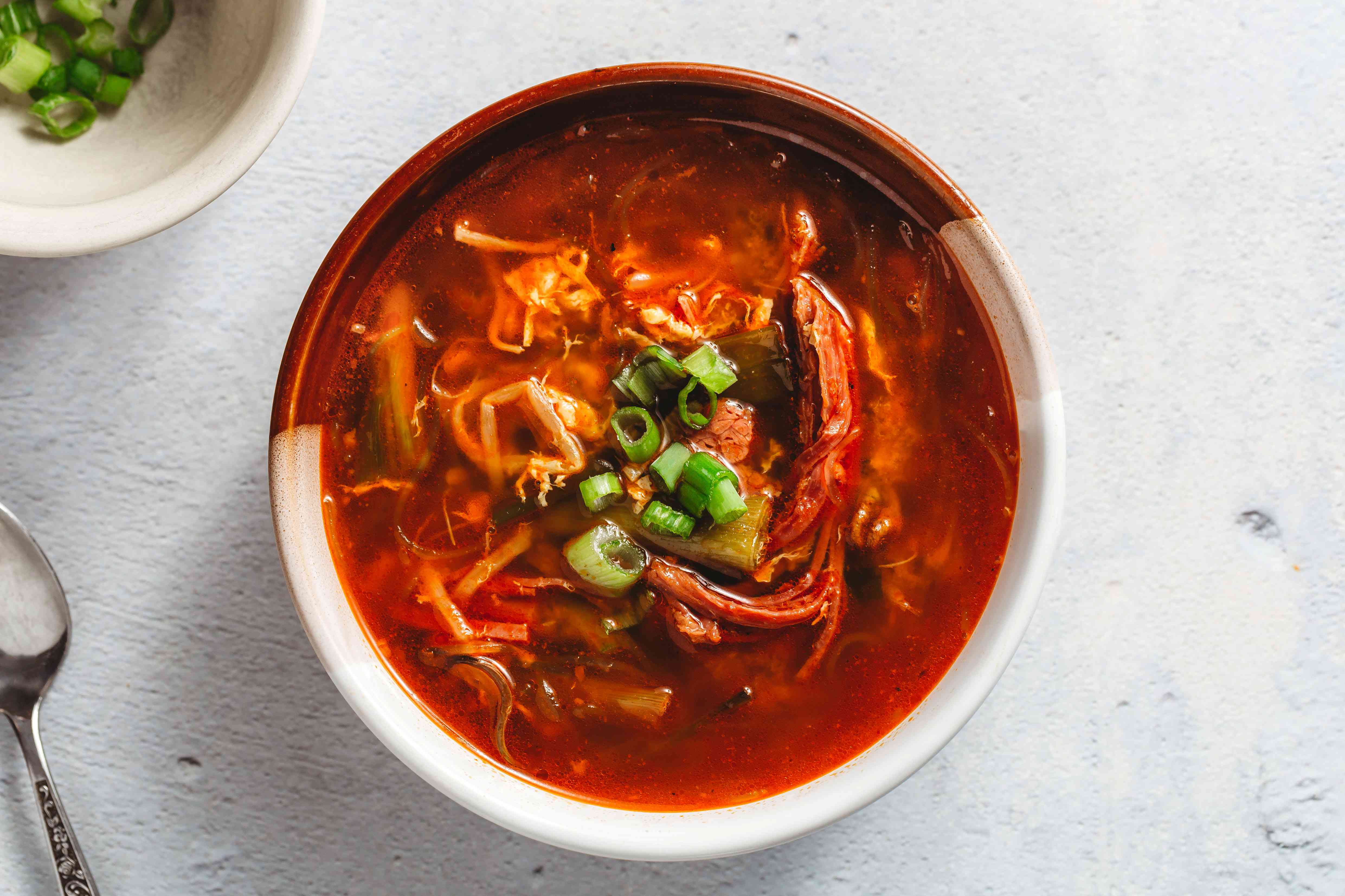 Korean Spicy Beef Soup (Yukaejang)