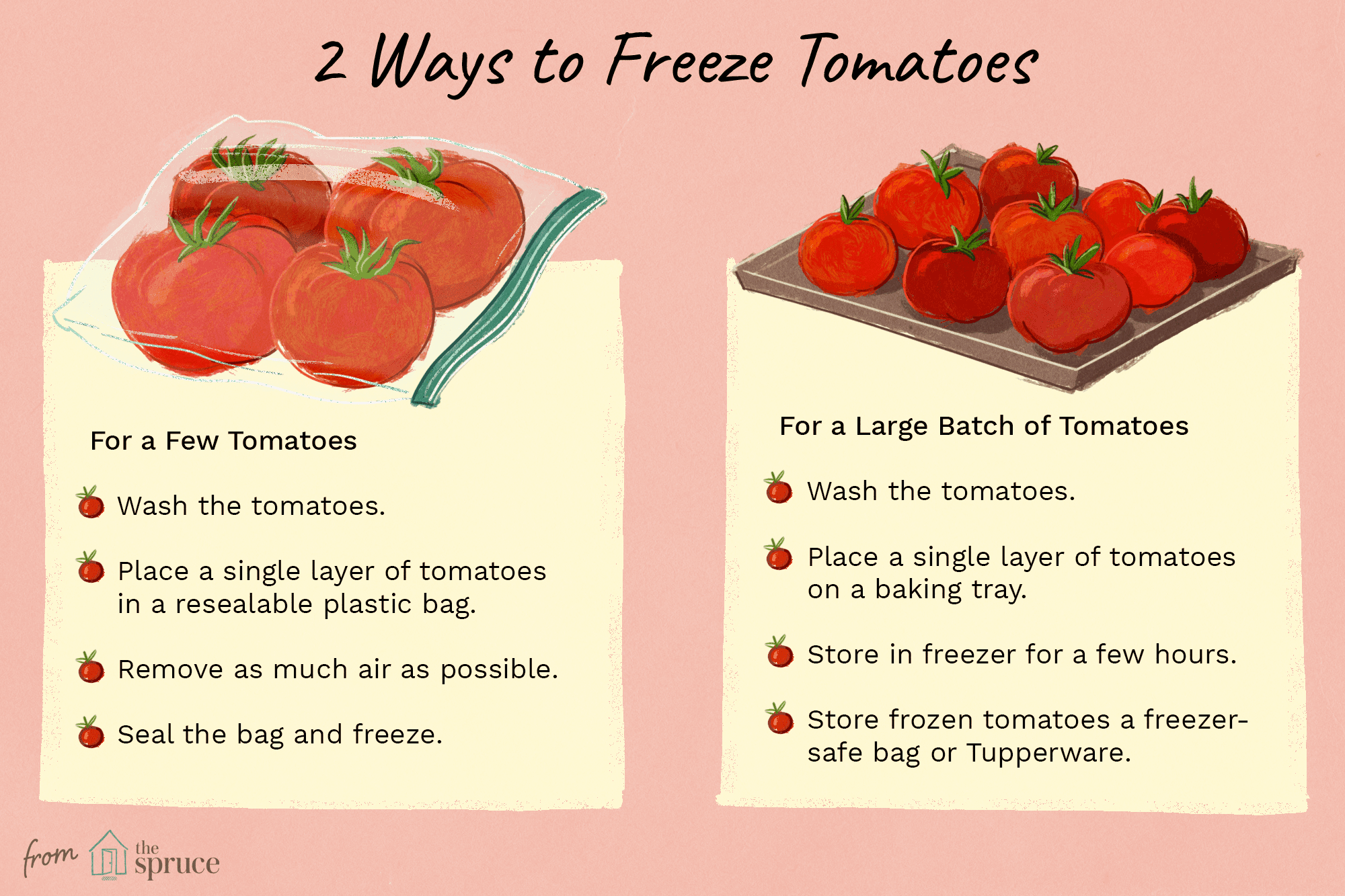 How to Freeze Just a Few Tomatoes