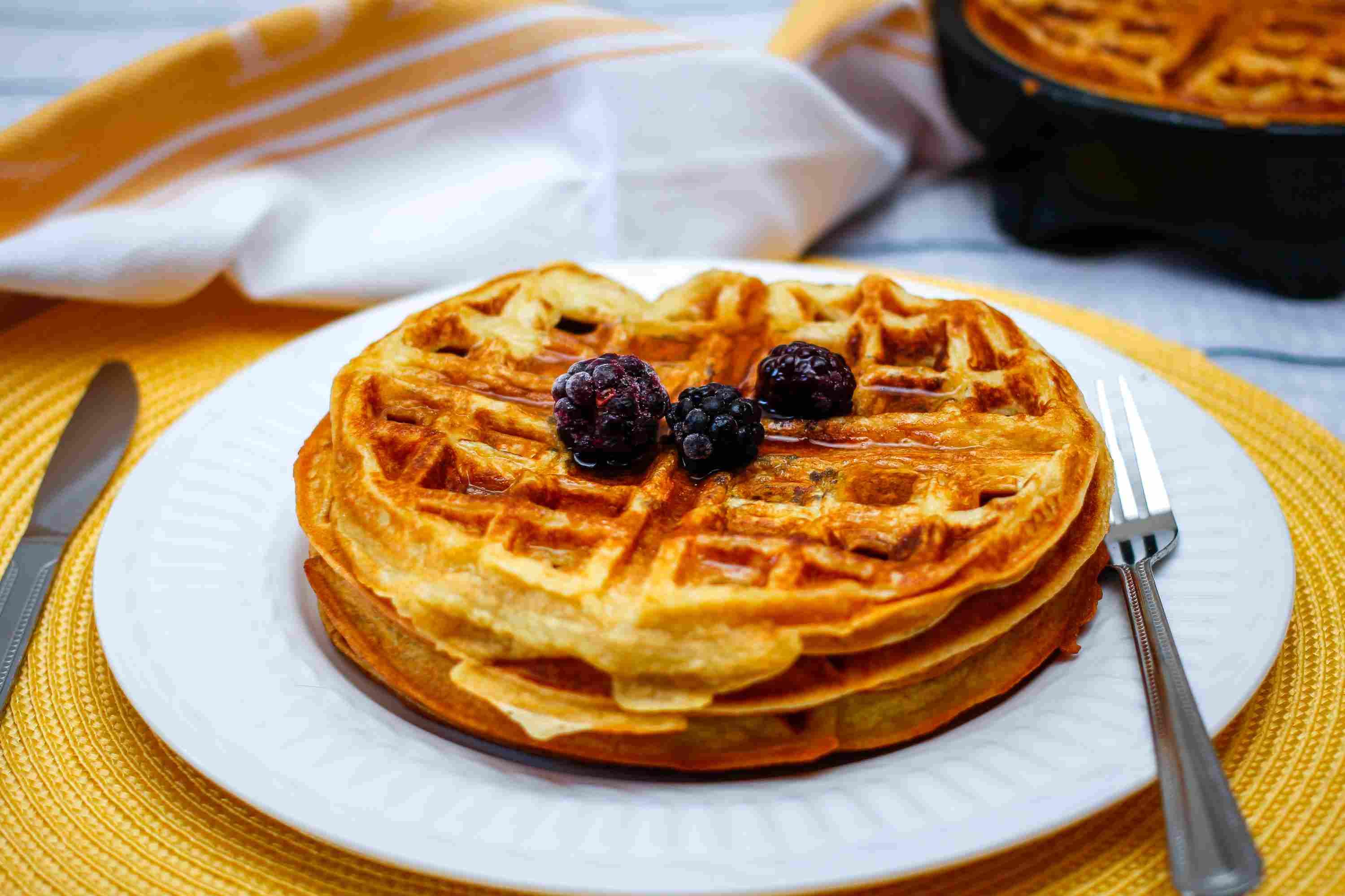 Fluffy waffles