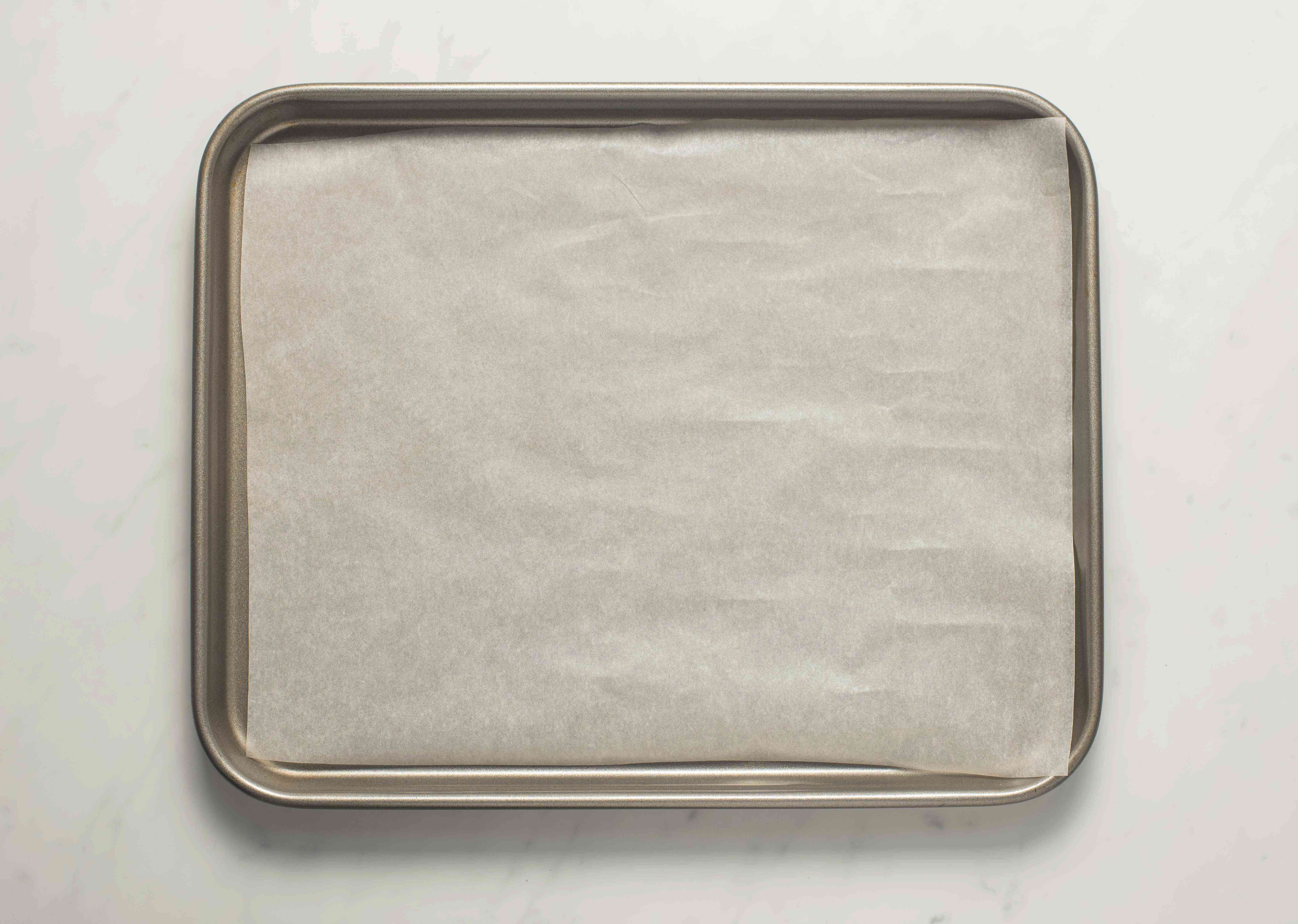 Line a cookie sheet