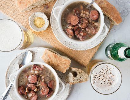 Croatian Bean Soup (Grah i Varivah)