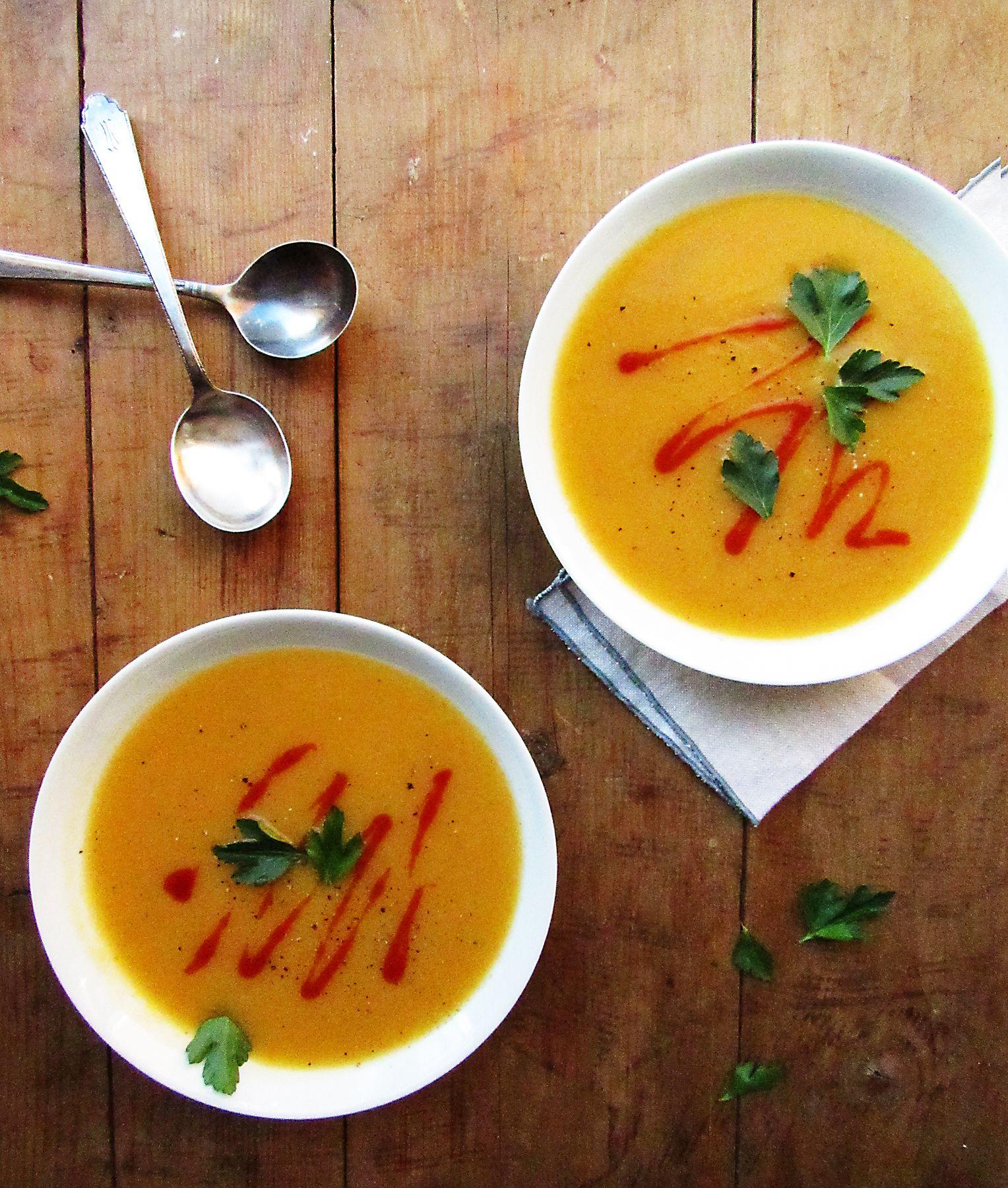 Pureed Vegetable Soup Recipe