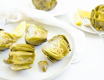 Simple Roasted Artichoke Recipe