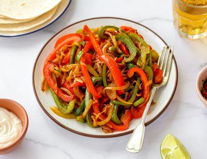 10-Minute Vegan Vegetable Fajitas