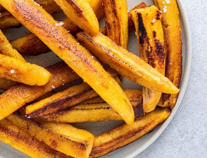 Fried Ripe Plantain Strips