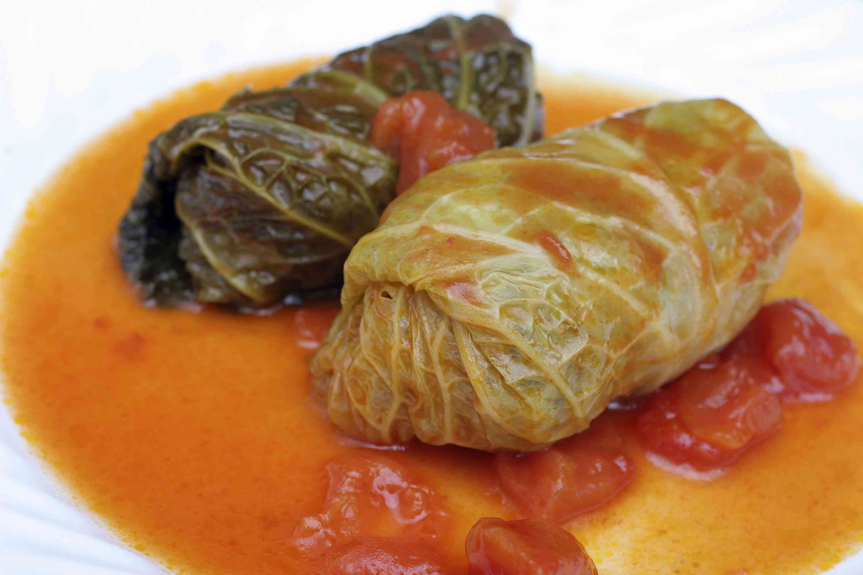Slovene Stuffed Cabbage Rolls