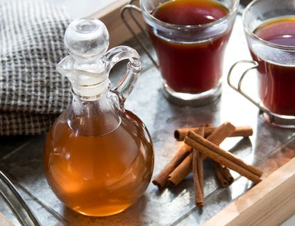 Homemade Cinnamon Simple Syrup