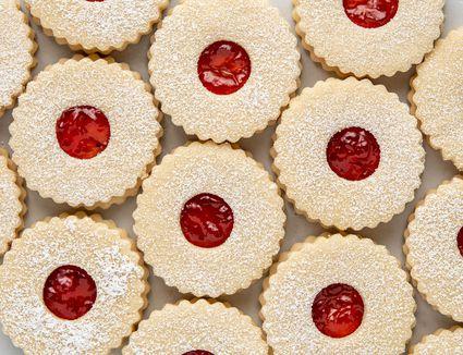 Czech Susenky Christmas Cookie (Vanocni Cukrovi)
